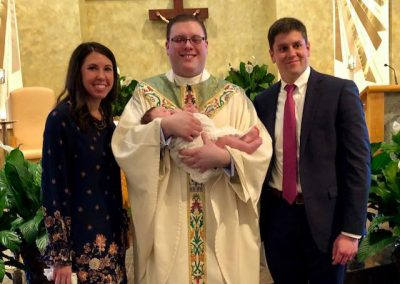 Congratulations to Crew Matthew, baptized on Saturday, and to his parents and family!