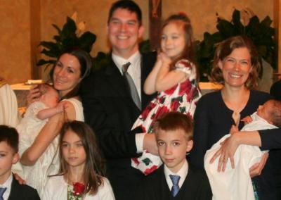Lucia Grace & Lewis Daniel Baptisms